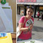 Zelení v Havířově a Ostravě se dnes postavili za pošťáky a pošťačky