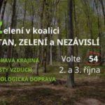 V Moravskoslezském kraji kandidujeme společně jako STAN, ZELENÍ A NEZÁVISLÍ (54)